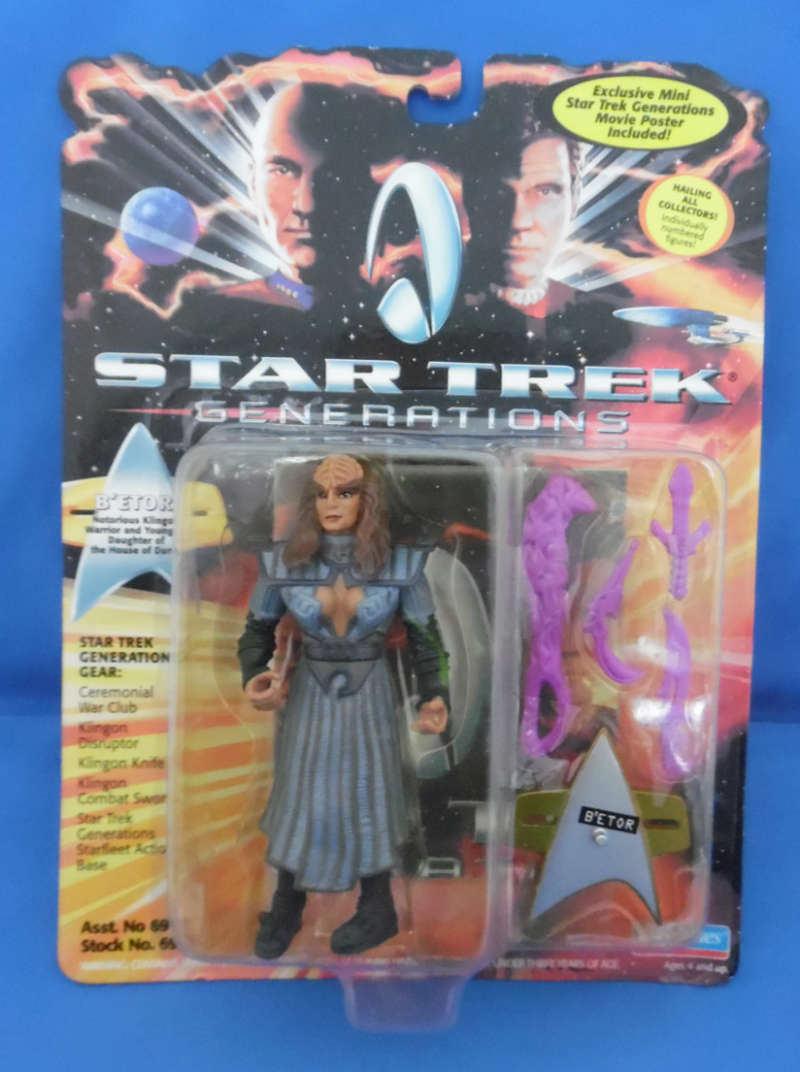 "Generations Lursa Klingon Warrior Star Trek /'94 5/"" Playmates Star Trek Unopened"