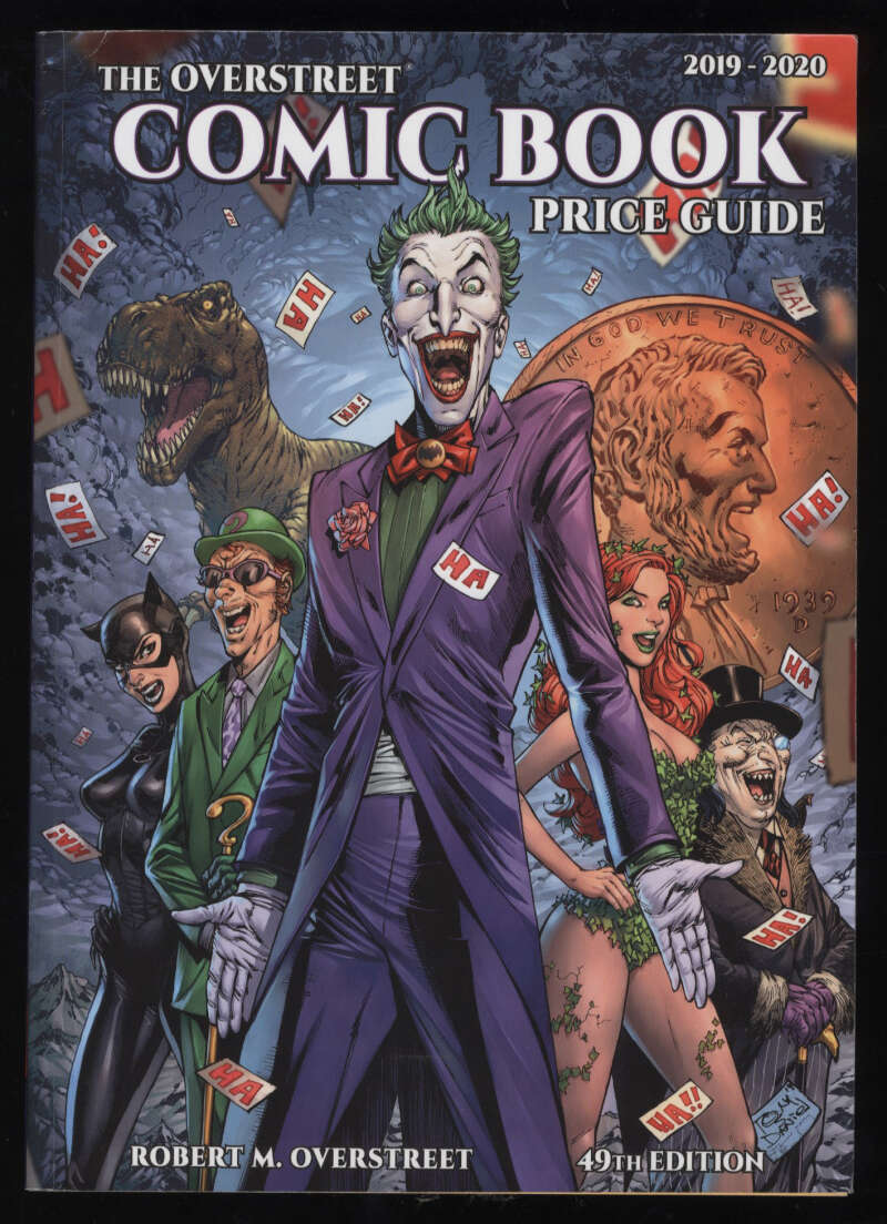 Overstreet Comic Book Price Guide 49th Edition 2019-20 Softcover Joker