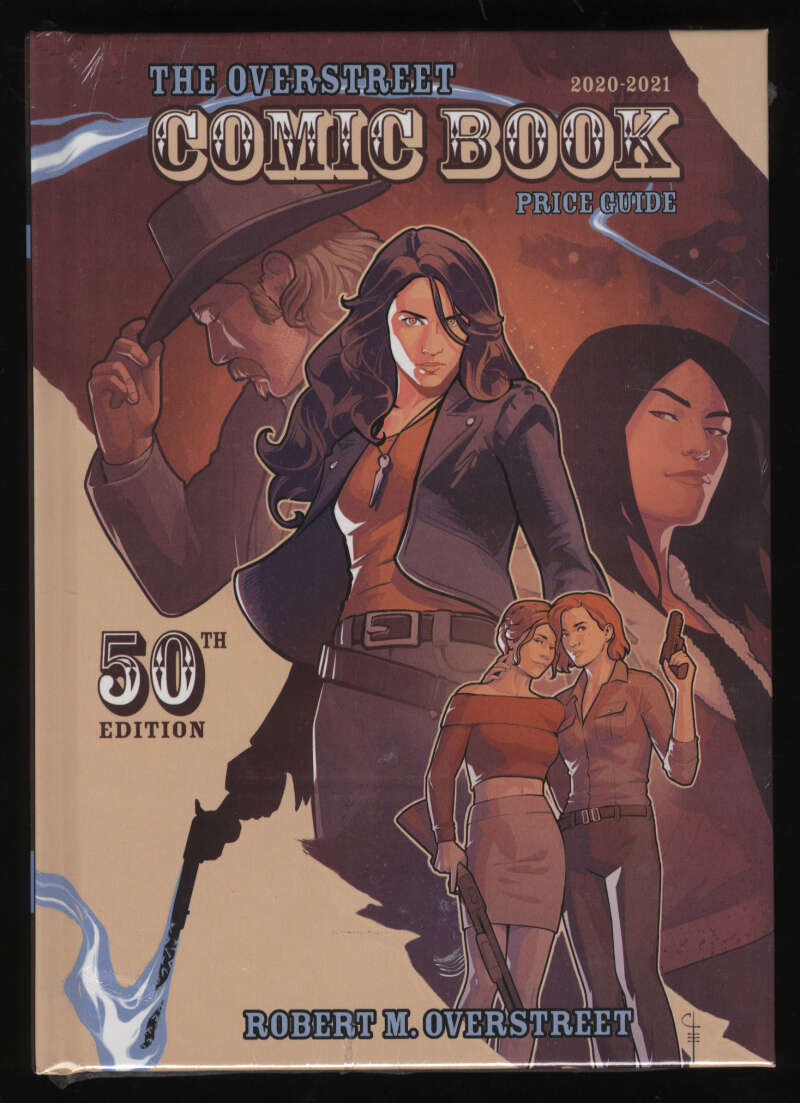 Overstreet Comic Book Price Guide 50th Edition 2020-21 Hardcover Wynonna Earp Sealed