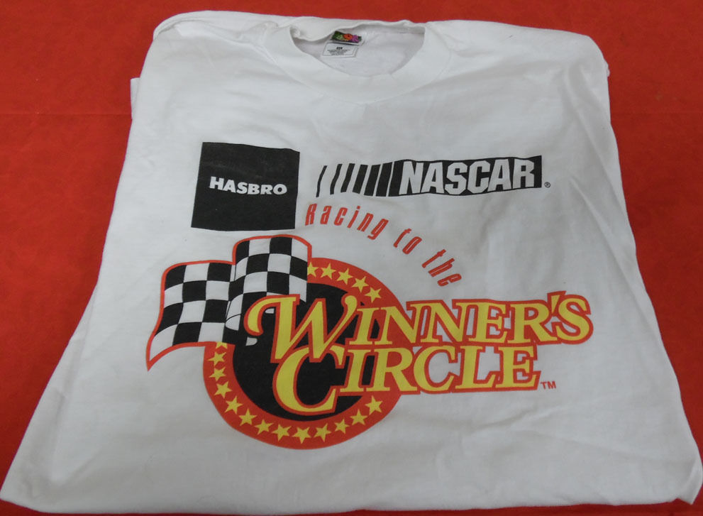 Hasbro Internal Only Nascar Winner's Circle Tee Shirt XL