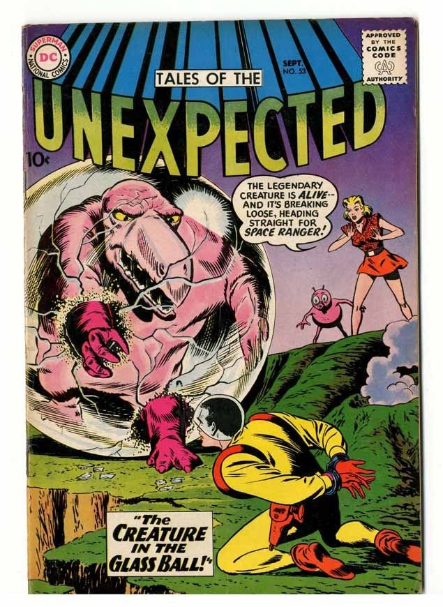 Tales Of The Unexpected #53 Cream Pages Fine