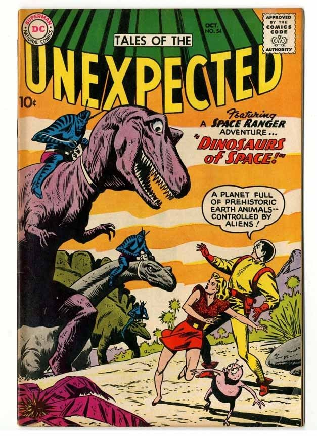 Tales Of The Unexpected #54 Tan Pages Fine+