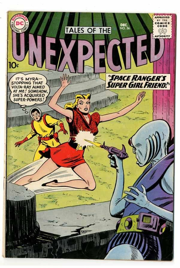 Tales Of The Unexpected #56 Light Tan Pages Fine+