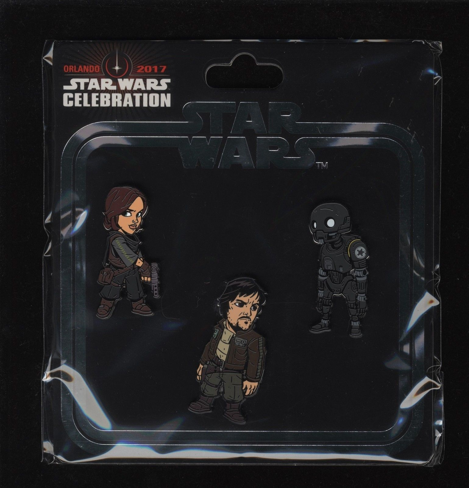 Star Wars Celebration Orlando 2017 Rogue One Jyn Erso Cassian Andor K-2SO