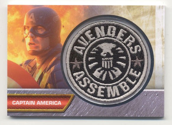 Captain America Captain America Avengers Assemble Patch Card I-4
