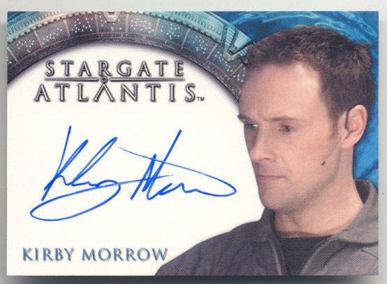 Stargate Hero Kirby Morrow Capt Kleinman Autograph Card