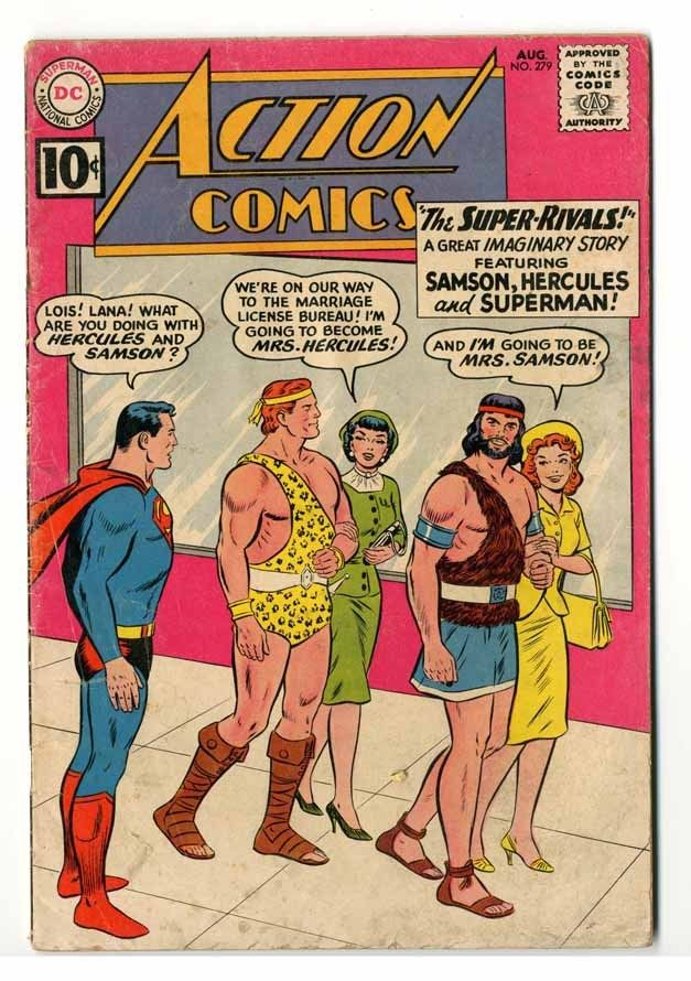 Action Comics #279 Cream-Off White Pages Good+