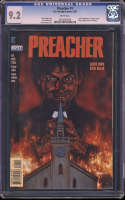 Preacher #1 CGC 9.2 WP 1st Full App Jesse Custer Tulip Cassidy Saint of Killers Thanos