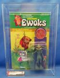 1985 Kenner Canada Star Wars Dulok Scout Ewoks Cartoon AFA 80 NM