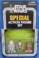 Star Wars Action Figure Set Droid R5-D4 Death Star Droid Power Droid Target Exclusive Kenner