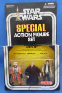Star Wars Action Figure Set Hero Luke X-Wing Pilot Ben Kenobi Han Solo Target Exclusive Kenner