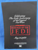 Star Wars Revenge of the Jedi Promo Advertising Folder 1982 Lucasfilm