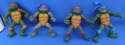 Teenage Mutant Ninja Turtles Movie Star Lot of 4 TMNT