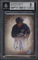 2015 Bowman Inception Aaron Judge #PAAJ BGS 9 Mint Prospect Autographs 10