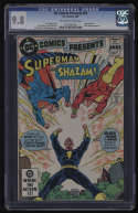 DC Comics Presents #49 CGC 9.8 OW/W Pgs Black Adam Shazam