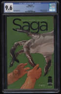 Saga #2 CGC 9.6 White Pages 1st Appearance The Stalk Izabel Brian K Vaughan