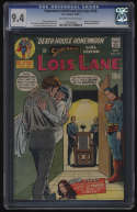 Superman's Girlfriend Lois Lane #105 CGC 9.4 OW/W Pgs 1st Appearance Rose & Thorn