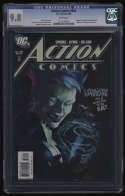 Action Comics #835 CGC 9.8 White Pages 1st Appearance Livewire Leslie Willis