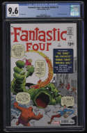 Fantastic Four #1 Facsimile Edition CGC 9.6 White Pages Reprint Stan Lee Jack Kirby 1961