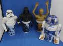 Star Wars Special Edition Cup Lot 4 Darth Vader Stormtrooper C-3PO R2-D2