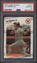1988 Fleer Glossy #570 Cal Ripken Jr. PSA 10 Gem Mint