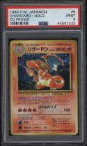 1998 Pokemon Japanese CD Promo #6 Charizard Holo PSA 9 Mint