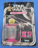Star Wars Darth Vader Tie Fighter Die Cast Metal Vintage 1978 Kenner Carded 21 Back
