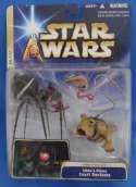 Star Wars Jabba's Palace Court Denizens Set ROTJ Sealed B'omarr Monk Bubo Wol Cabasshite Hasbro