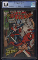 Amazing Spider-Man #101 CGC 6.5 OW Pages 1st Appearance Morbius the Vampire