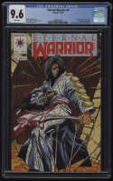 Eternal Warrior #4 CGC 9.6 White Pages Valiant 1992 1st Appearance Bloodshot Immortal Enemy