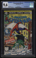 Amazing Spider-Man #212 CGC 9.6 White Pages 1st Appearance Hydro-Man Spiderman Marvel