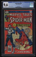 Marvel Tales #106 CGC 9.6 White Pages Reprints Amazing Spider-Man 129 Punisher ASM