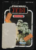 Star Wars ROTJ Stormtrooper 77A Cardback Kenner 1983 Return of the Jedi