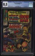 Tales of Suspense #94 CGC 8.5 White Pages 1st Appearance MODOK M.O.D.O.K. Marvel 1967