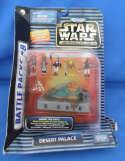 Star Wars Action Fleet Desert Palace Battle Pack Jabba the Hutt Leia Boushh