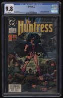 Huntress #1 CGC 9.8 White Pages 1st Appearance Helena Bertinelli Birds of Prey