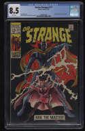 Doctor Strange #177 CGC 8.5 White Pages New Costume Dr. Marvel 1969