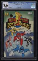 Saban's Mighty Morphin Power Rangers #1 CGC 9.6 White Pages Hamilton Comics 1994