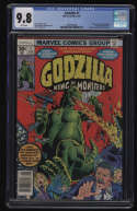 Godzilla #1 CGC 9.8 White Pages Marvel 1977 Herb Trimpe