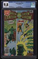 Green Lantern #116 CGC 9.8 White Pages DC 1979 Guy Gardner