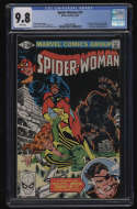 Spider-Woman #37 CGC 9.8 White Pages Marvel 1981 1st Siryn Theresa Cassidy