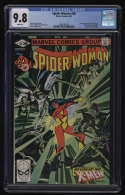 Spider-Woman #38 CGC 9.8 White Pages Marvel 1981 Siryn