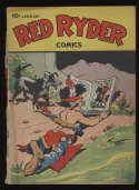 Red Ryder Comics #42 Cream Pages Dell Publishing January 1947