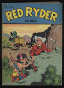 Red Ryder Comics #43 OW Pages Dell Publishing February 1947