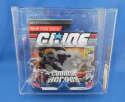 G.I. GI JOE Combat Heroes Snake Eyes With Timber SDCC Exclusive AFA 90 Hasbro 2008