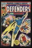 Defenders #28 Fine+ 6.5 OW/W Pgs 1st Full Starhawk Marvel Comics