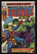 The Eternals #15 VF- 7.5 OW Pgs Hulk Marvel Comics