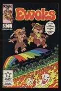 Ewoks #1 VF- 7.5 OW Pgs Star Wars Star Marvel Comics Wicket Teebo