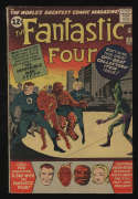 Fantastic Four #11 VG- 3.5 OW/W Pgs 1st Impossible Man Marvel Comics