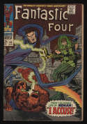 Fantastic Four #65 Good/VG 3.0 OW Pgs 1st Ronan The Accuser Marvel Comics